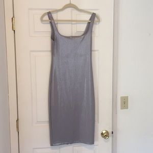 American Appeal Sliver bodycon dress